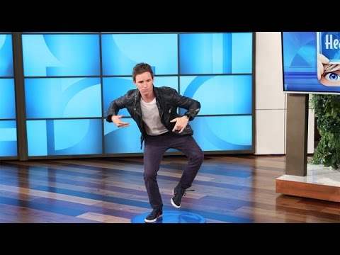 Eddie Redmayne Plays 'Heads Up!' with Ellen