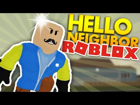 WHY IS THE NEIGHBOR BALD!? | Hello Neighbor ROBLOX Gameplay
