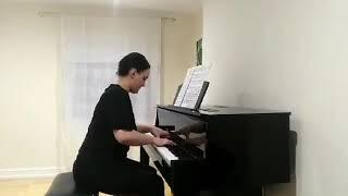 Book 1 - Prelude and Fugue in B flat minor: Anastasia Kipiani (BMus 1)