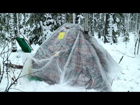 Обогрев палатки зимой Последние секреты тёплой палатки