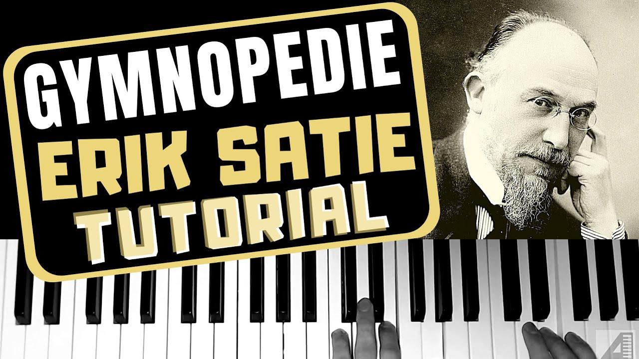 """Cómo tocar """"Gymnopédie No. 1"""" de Erik Satie en piano (tutorial)"""