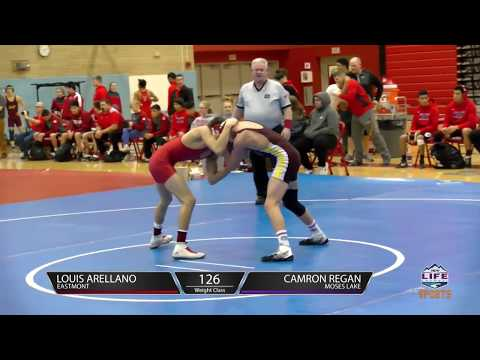 EHS v Moses Lake   Wrestling 2018 01 16