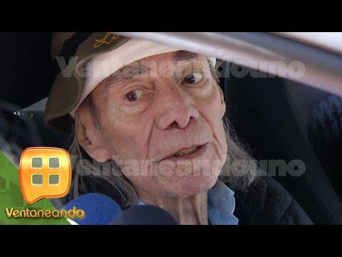Iván Valdés confirma que su abuelo Manuel 'El Loco' Valdés, sufrió una crisis.   Ventaneando