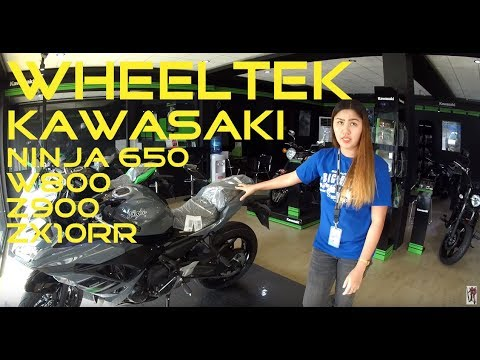 Motorcycle Shop Visit: Wheeltek Kawasaki Big Bikes McArthur Highway  Balusong Davao City