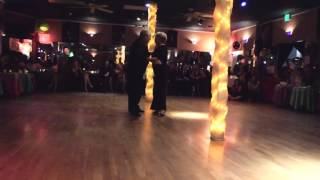 Julie Friedgen and Angel Echeverria perform at El Encuentro Sweet 16 Milonga 11/21/15