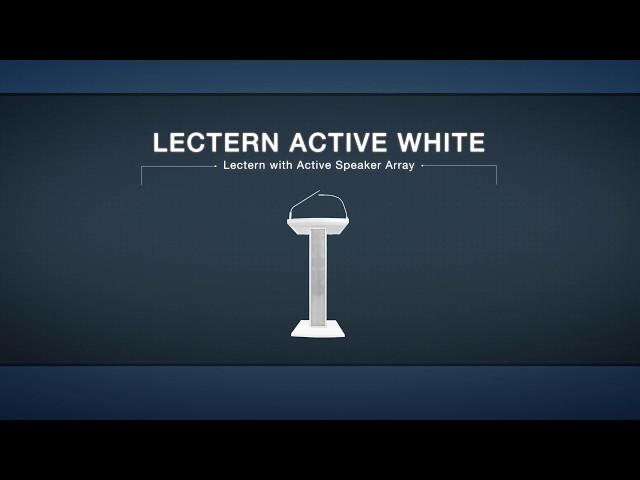 Denon Professional Lectern Active White Portable Speaker