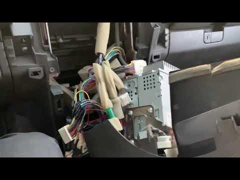 Nissan Pathfinder 2011 S Aftermarket Radio Install
