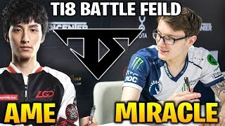 Miracle and Team Serenity vs Ame - The TI8 Battle Field