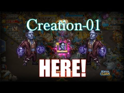 Creation-01 Is HERE! Opening And Roll Talents Castle Clash