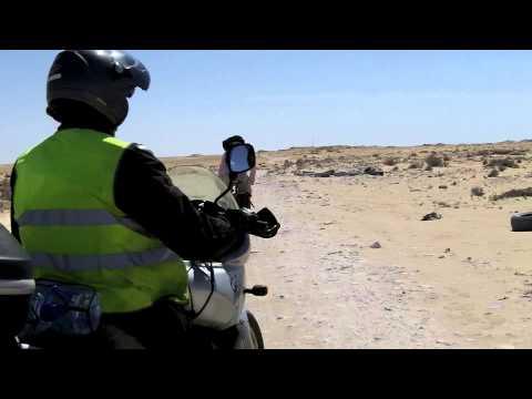 Leaving Western Sahara. Entering Mauritania