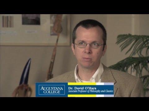 Dr. David O'Hara on Philosophy