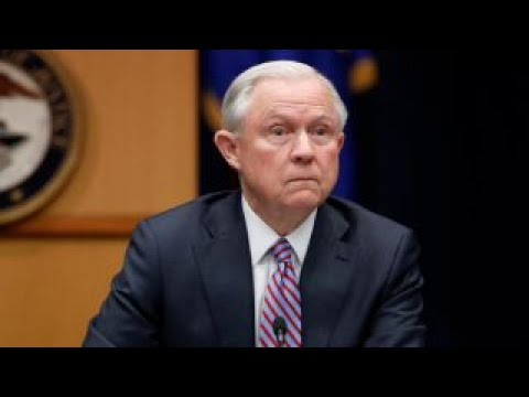 Attorney General Sessions announces policy to increase civil forfeiture