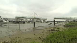 Shoreham Ferry Bridge Evolution (speeded Up)