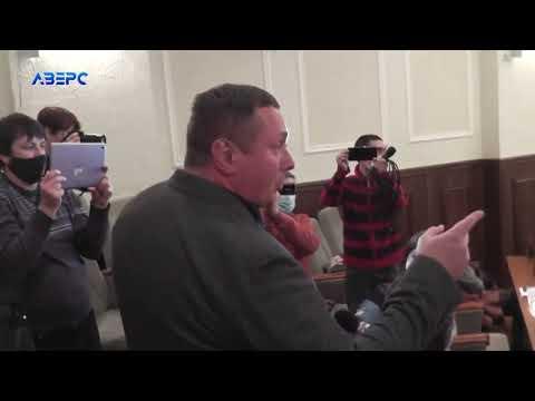 ТРК Аверс: «Я українець - ви зрадники» - Погуляйко закатав скандал на сесії Волиньради