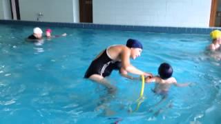 грудничковое плавание в бассейне ЮЗАО Газопровод