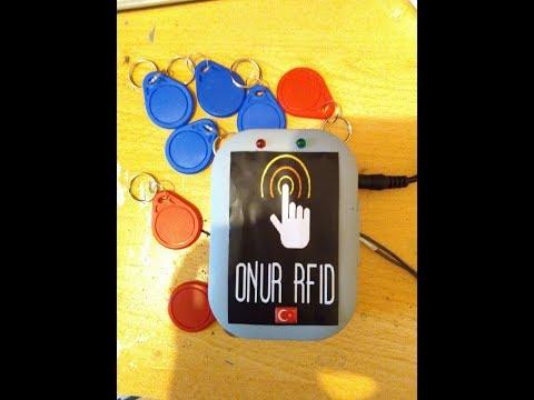 ARDUINO İLE RFID Kapı Geçiş Sistemi