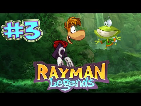 THE RAY CHICKEN THAT LOVES CAKE   RAYMAN LEGENDS PART 3