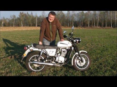 Обзор мотоцикла Минск М4 200