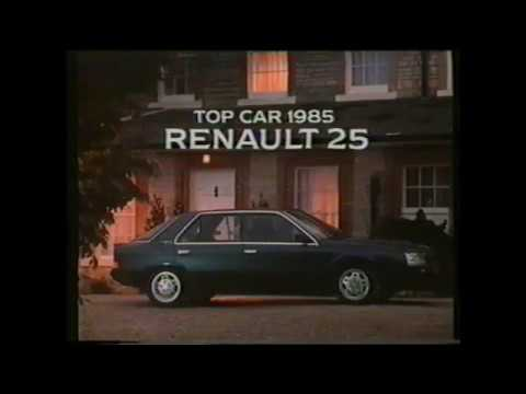 Renault 25 Top Car 1985 TV Advert