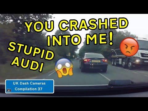 UK Dash Cameras - Compilation 37 - 2019 Bad Drivers, Crashes + Close Calls