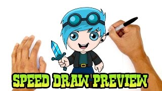 DanTDM (The Diamond Minecart)- Speed Draw Preview