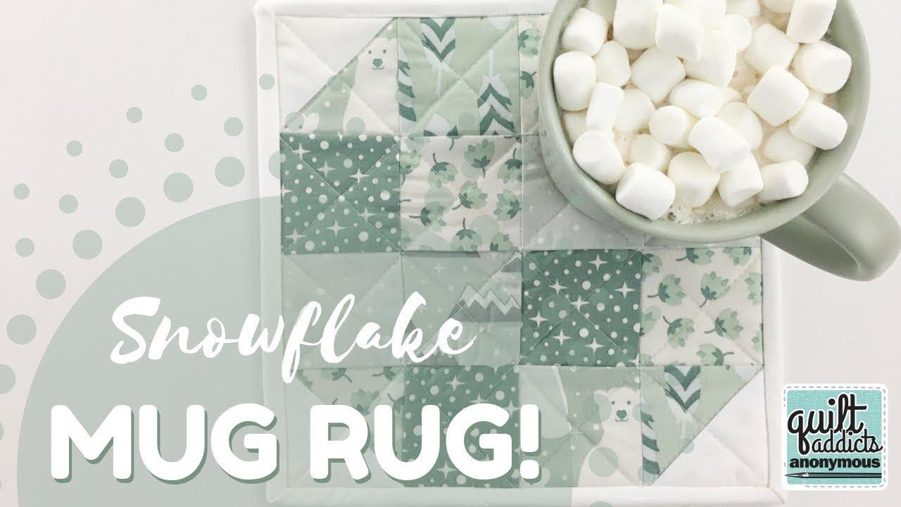 Mug Rug FREE Pattern & Tutorial
