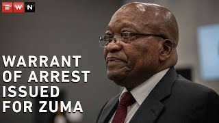 A warrant of arrest has been issued for former President Jacob Zuma in relation to charges he faces for a multibillion-rand arms deal.   #JacobZuma #ArmsDeal #SouthAfrica