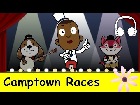 Camptown Races  | Family Sing Along - Muffin Songs