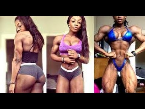 SHANIQUE GRANT - incredible MUSCLES - workout motivation
