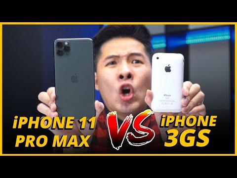 iPHONE 3GS VS