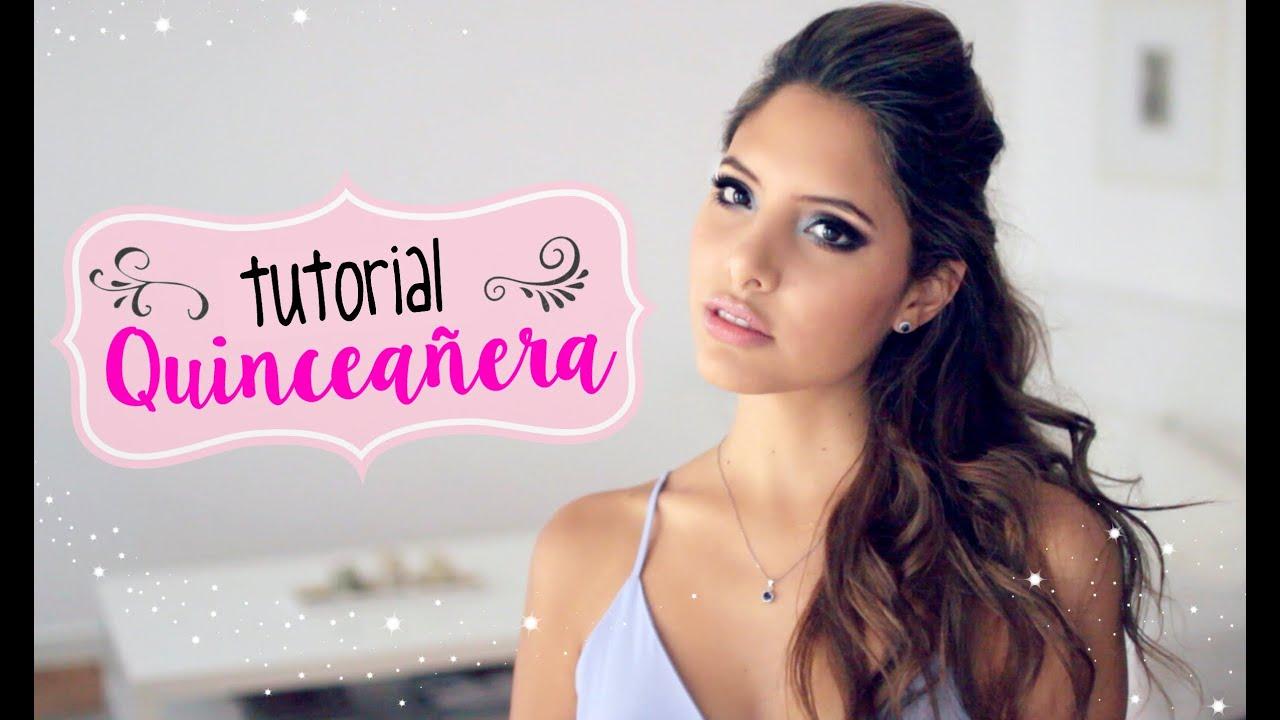 Maquillaje y Peinado Quinceañera | Valeria Basurco