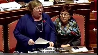 Milleproroghe  - Intervento Emilia De Biasi