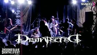 Disinfected Live at INDONESIAN DEATH FEST 2019 (Jakarta)