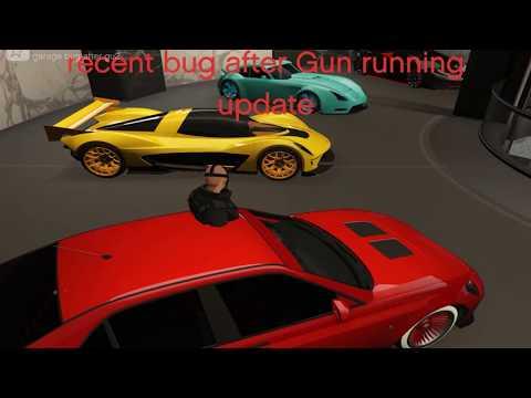 GTA V: garage bug after Gun Running update