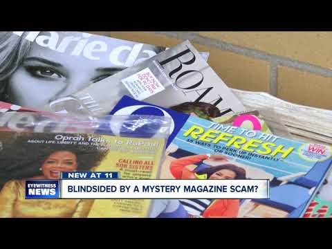 Magazine scam could cost you hundreds