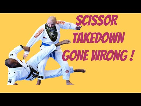SCISSOR TAKEDOWN AND HEEL HOOK INJURIES