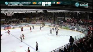 Hockeyallsvenskan 2012/13 Omgång 30: Mora IK - Djurgårdens IF