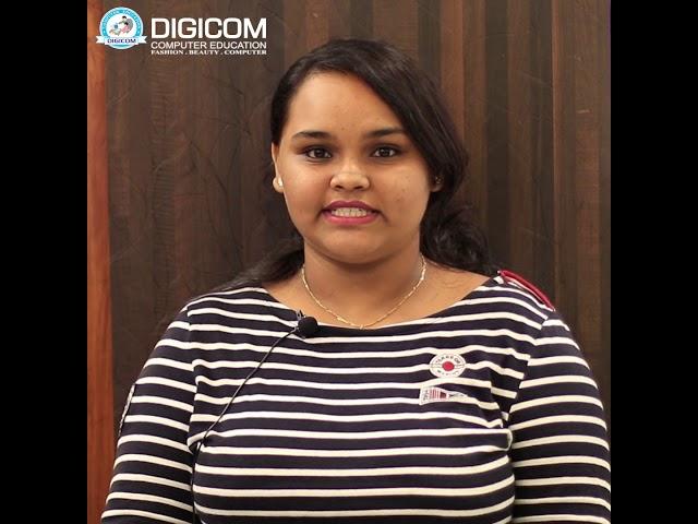 Testimonial by Alita Gomes | Digicom Computer Education | Bachelor in Computer Application