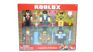 Roblox Series 2 Legends of Roblox Set Unboxing Toy Review