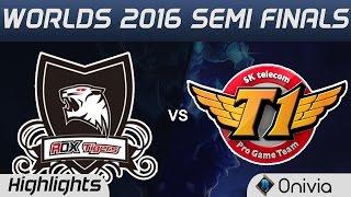 ROX vs SKT Highlights Game 4 Worlds 2016 Semi Finals ROX Tigers vs SK Telecom T1