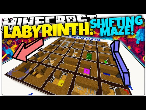 Minecraft | LABYRINTH! | Random Shifting Maze (Minecraft Custom Mini Game)