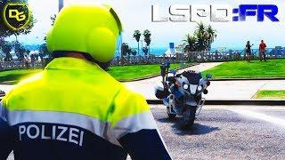 « POLIZEI-MOTORRAD » GTA 5 LSPD:FR #144 - Deutsch - Grand Theft Auto 5 LSPDFR