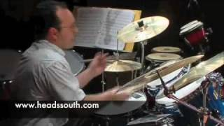 Heads South, Palencia, 28 Nov 2009 - Buster Birch Drum Solo