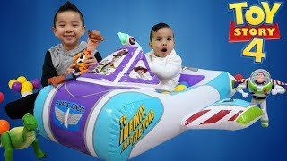 Toy Story Rocket Ship Surprise Fun With CKN Toys
