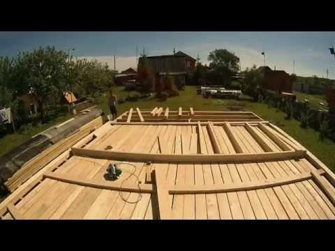 видео: ч.3 Каркасный дом 6 на 6 своими руками  (сборка наружных стен в одиночку)