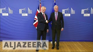Brexit: UK, EU launch negotiations in Brussels