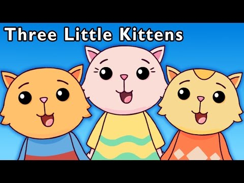 Cute Cat Video | Three Little Kittens and More | Baby Songs from Mother Goose Club!