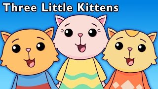 cute cat video   three little kittens and more   baby songs from mother goose club