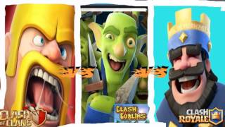 Clash Of Clans VS Clash Of Goblins VS Clash Royale