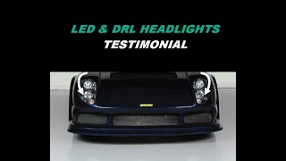 2006 NOBLE M400 LED/DRL HEADLIGHTS - TESTIMONIAL